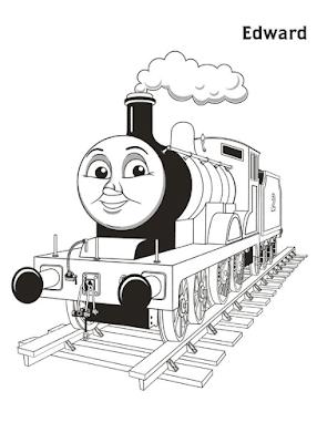 Gambar Mewarnai Thomas and Friends - 26