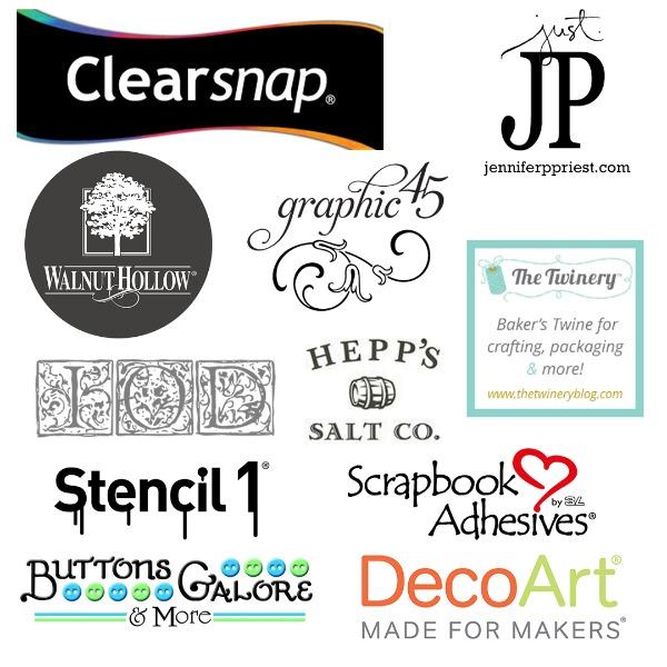 Blog Hop Sponsors
