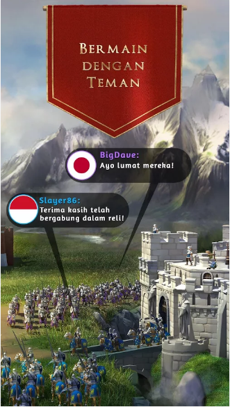 Game March of Empires V2.1.0o MOD Apk Terbaru