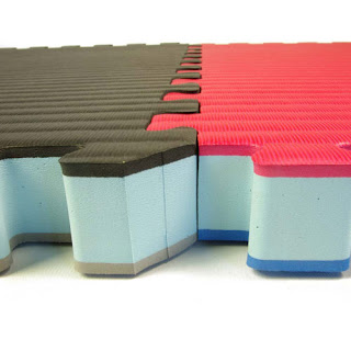Greatmats interlocking foam tiles installation