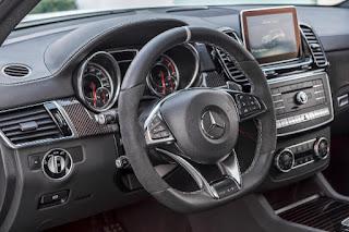 Mercedes Benz GL Class interior