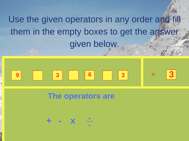 Math Operator Equation Brain Teaser-5