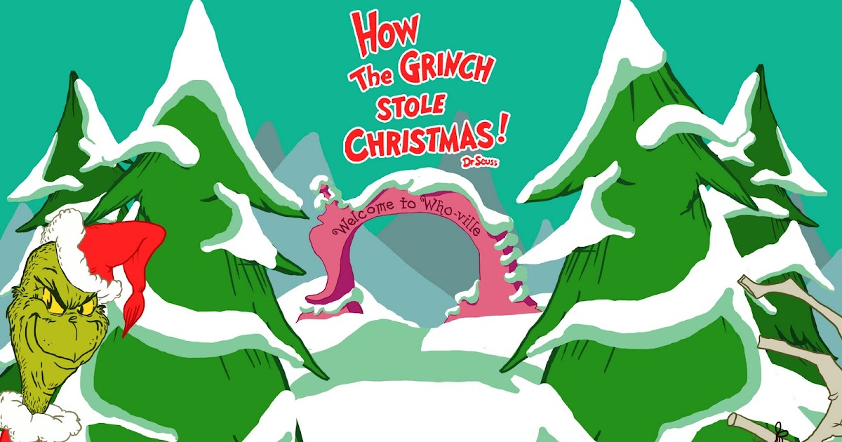 Fondos Para Pantallas De Grinch Para Navidad: Imagenes: Dibujo De El Grinch