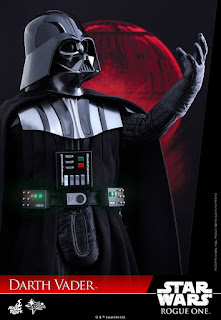 Darth Vader Figure, Hot Toys Star Wars Rogue One Darth Vader Figure