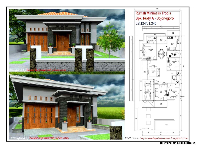 Jasa Desain Rumah Gallery Taman Minimalis