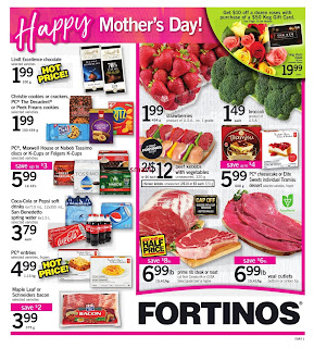 Fortinos Flyer May 11 to 17, 2017