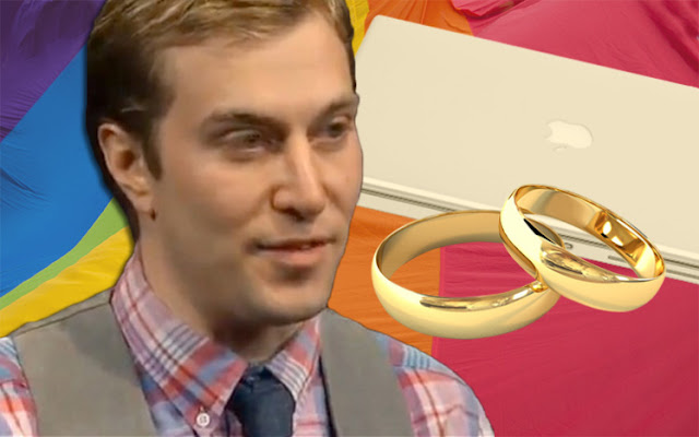 American Man Actually Married His Beloved Laptop