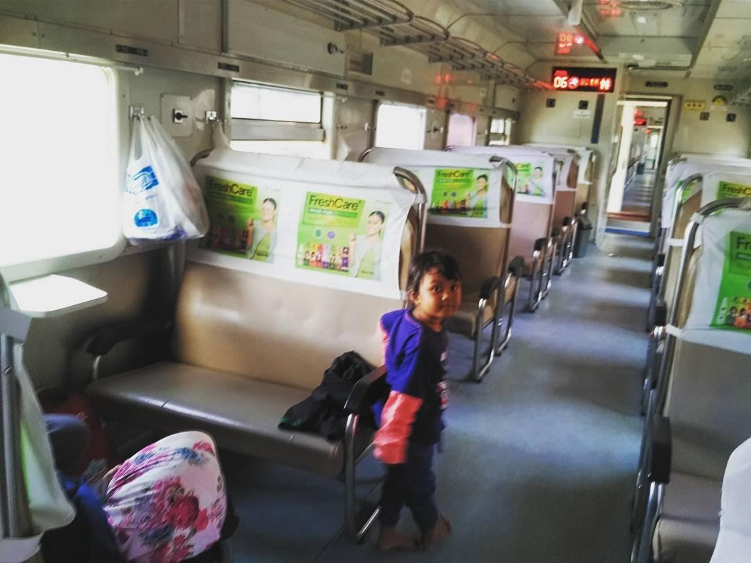 kereta api merak purwokerto
