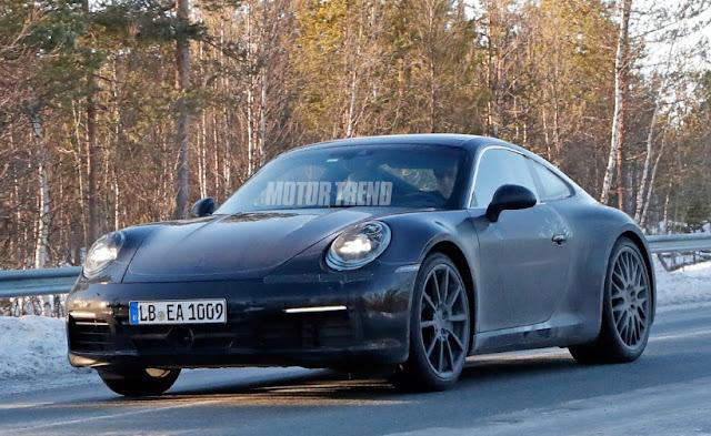 Porsche 911 может получить высокопроизводительный гибридный вариант