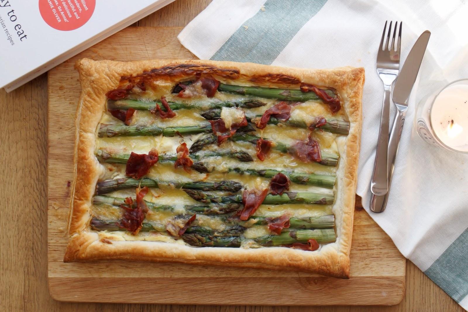 Asparagus And Camembert Tart