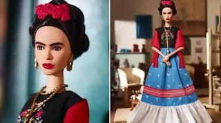 Barbie lanzó al mercado una muñeca de Frida Khalo en el Día Internacional de la Mujer