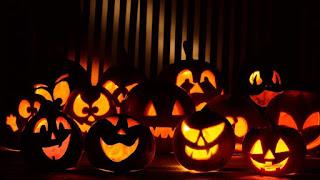 резные тыквы на хэллоуин в киеве