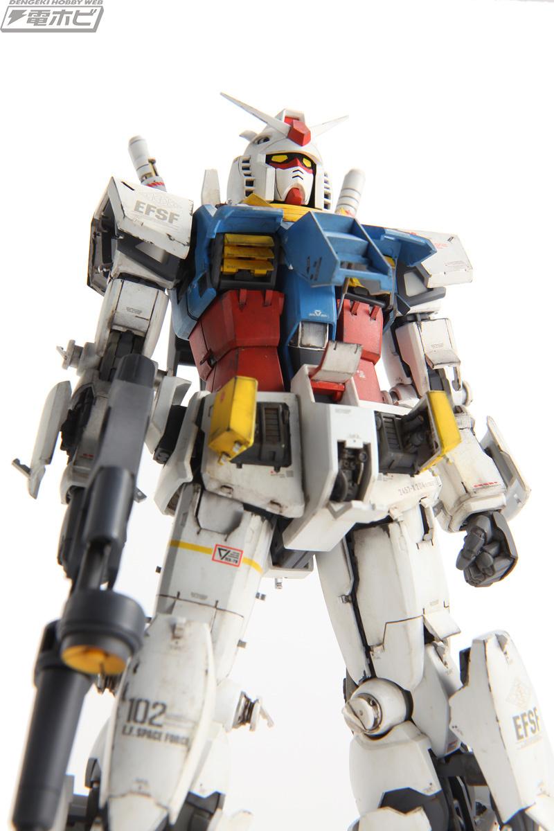 1100 Rx782 Gundam Ver Ka Custom Build And Rx 93 V Nu Master Grade Daban Model