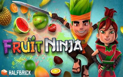 لعبة : Fruit Ninja : هل اصابعك سريعة بما يكفي ؟ أتبث ذلك بقطع الفاكهة.. قطع فاكهة، ولا تقطع القنابل - هذا كل ما تحتاج لمعرفته لتبدأ لعبة نينجا الفكهة التي لن يمكنك التوقف عنها! من هناك، استكشف الفروق الدقيقة بين النمط الكلاسيكي، ونمط زن، ونمط أركاديا المفضل لدى الأنصار، حتى تزيد من مهاراتك. قطع من أجل نتيجة عالية، واستعمل القوى الإضافية وأصابع الموز الخاصة إلى أقصى تأثير، وابلغ قمة الإثارة مع الرمانة المتعددة الشرائح.شرح البرنامج عبر الفيديو التالي فرجة ممتعة .