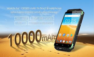 فيديو جديد عن الهاتف القوي OUKITEL K10000 MAX