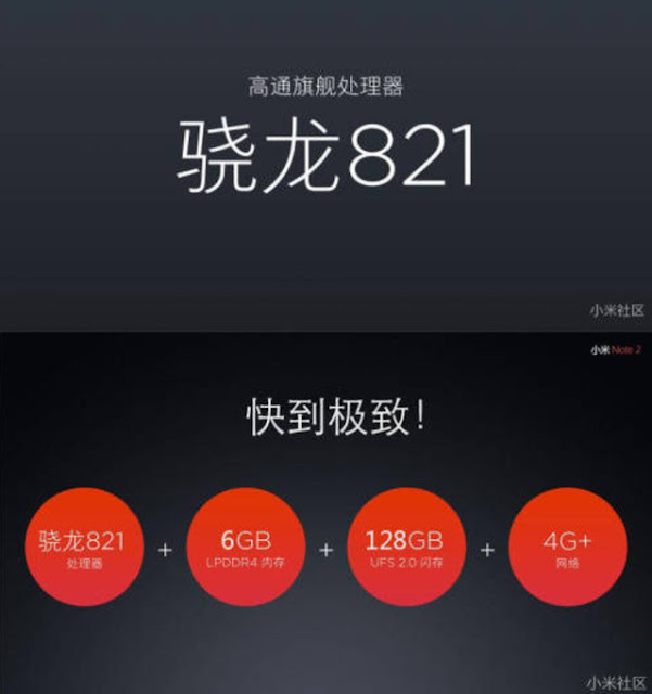 Hé lộ cấu hình đầy đủ của Xiaomi Mi Note 2 - 148294