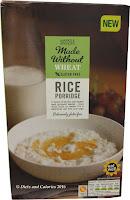 marks and spencer gluten free  rice porridge