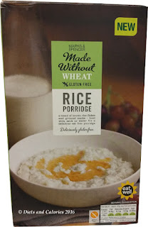marks and spencer gluten free  rice porridge