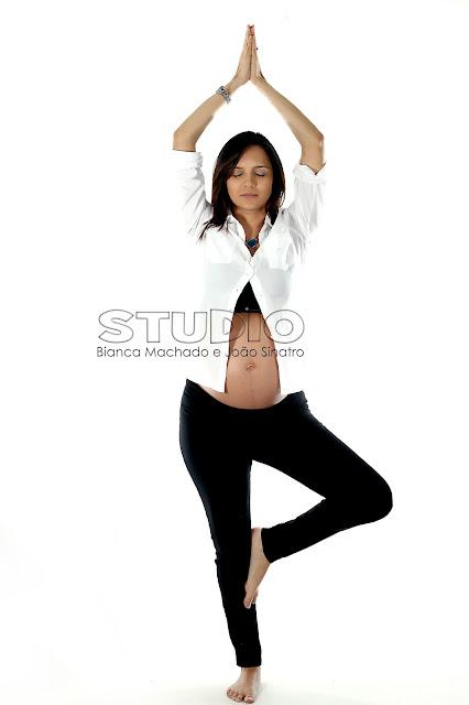 fotografias yoga na gravidez