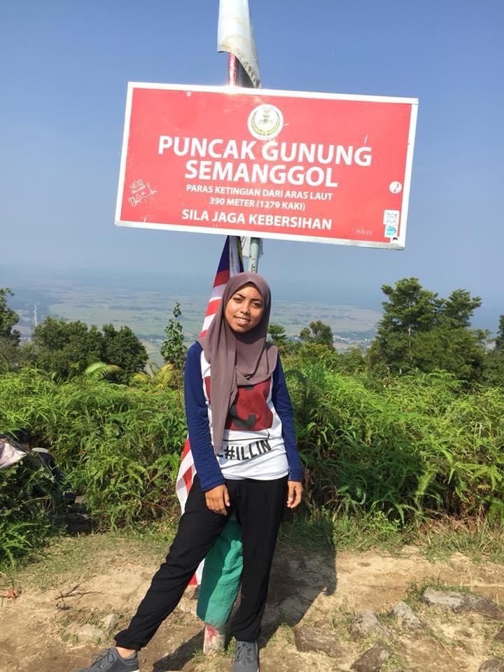 Hiking Di Gunung Semanggol, Perak.