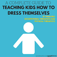 Teach kids how to get dressed