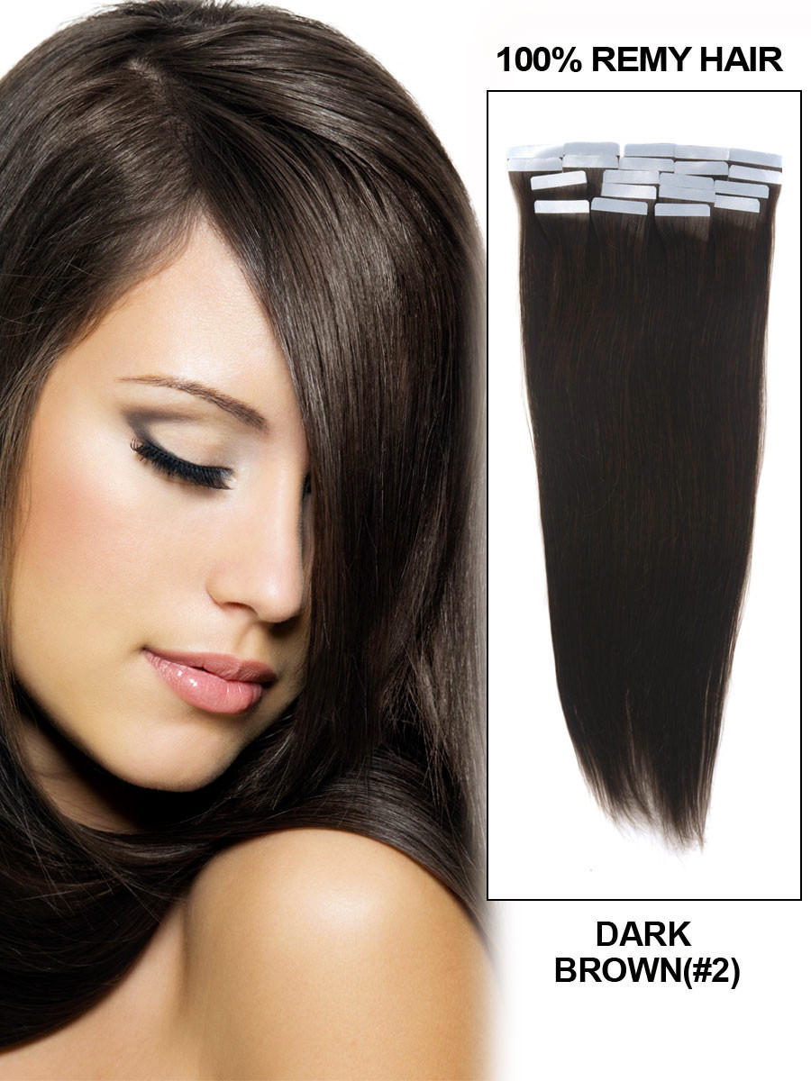 Can You Apply Tape In Hair Extensions Yourself - Indian Remy Hair