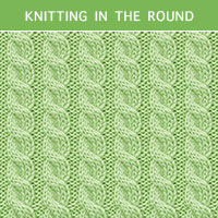 Twist Cable 27 - Knitting in the round