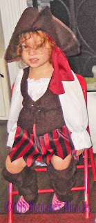 pirate costume for 3 year old