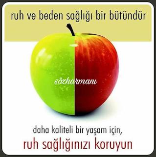 beden sağlığı, elmanın iki yarısı, hayat, kaliteli hayat, resimli sözler, ruh sağlığı ne demektir, ruh sağlığı nedir, sağlıklı yaşam, ruh beden ilişkisi nasıldır, ruh nedir,
