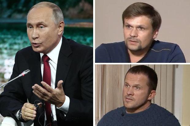 Rusia menyarankan Inggris BISA mewawancarai tersangka Novichok Salisbury