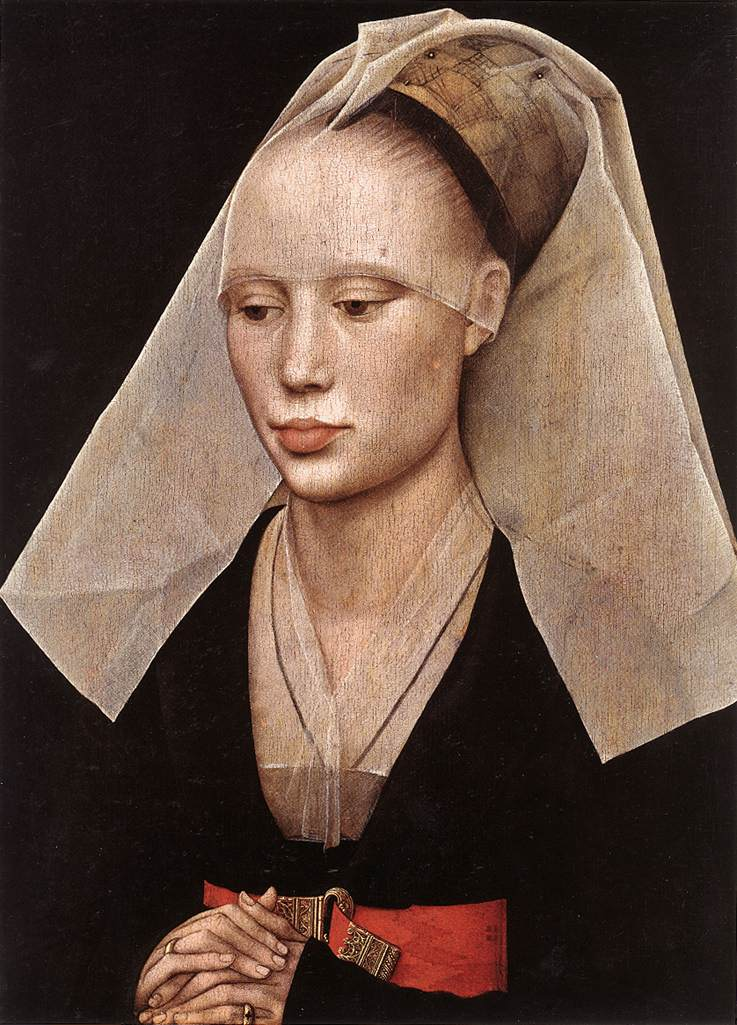 Portrait Ofa Girl 14 Years In Nature Stock Image: Daily Artist: Rogier Van Der Weyden (1399/1400