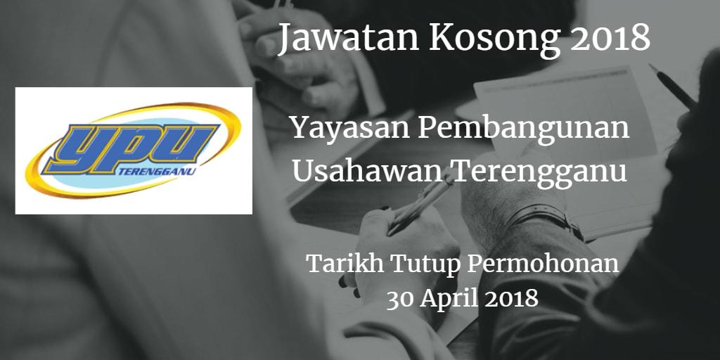 Jawatan Kosong YPU 30 April 2018