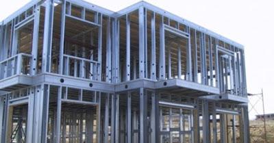 Estructuras metálicas de acero galvanizado