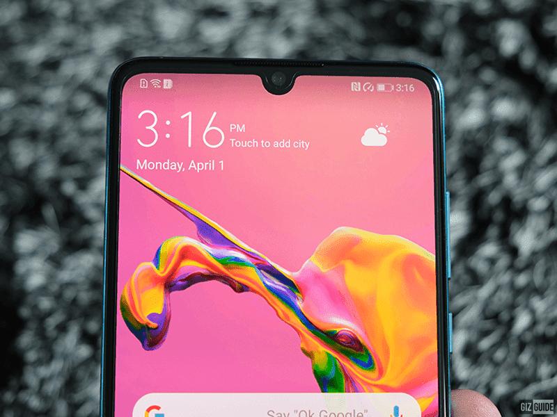 Huawei P30's 32MP selfie camera