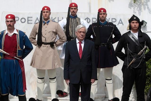 Η Προεδρική Φρουρά θα φοράει και τη Θρακιώτικη παραδοσιακή μαύρη ανδρική φορεσιά