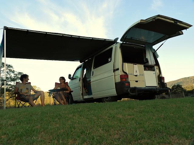 viaggiare in campervan in australia
