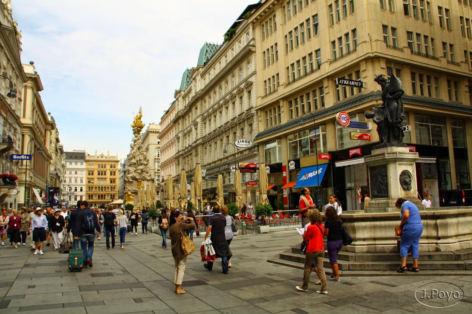 Calle Graben de Viena