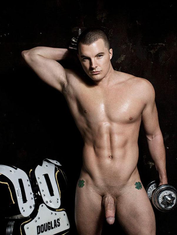 Douglas Beckham Naked Nude nu frontal by Rick Day