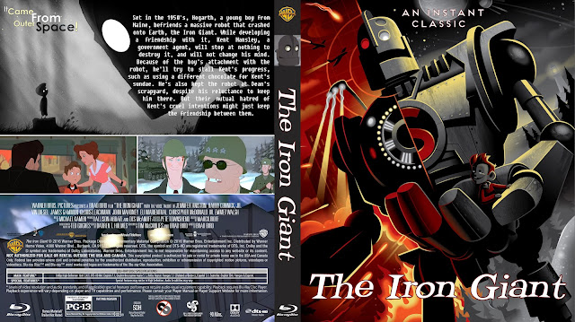 The Iron Giant Bluray Cover