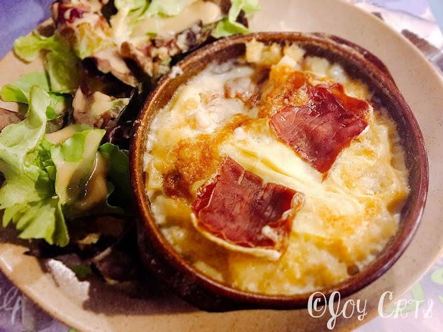 Restaurant à Grenoble, tartiflette à la viande de grison