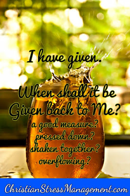 When Shall It Be Given Back To Me?