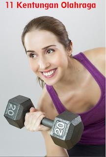 11 Kentungan Berolahraga