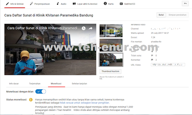 Minta peninjauan untuk Video Youtube yang Tidak sesuai untuk sebagian besar pengiklan