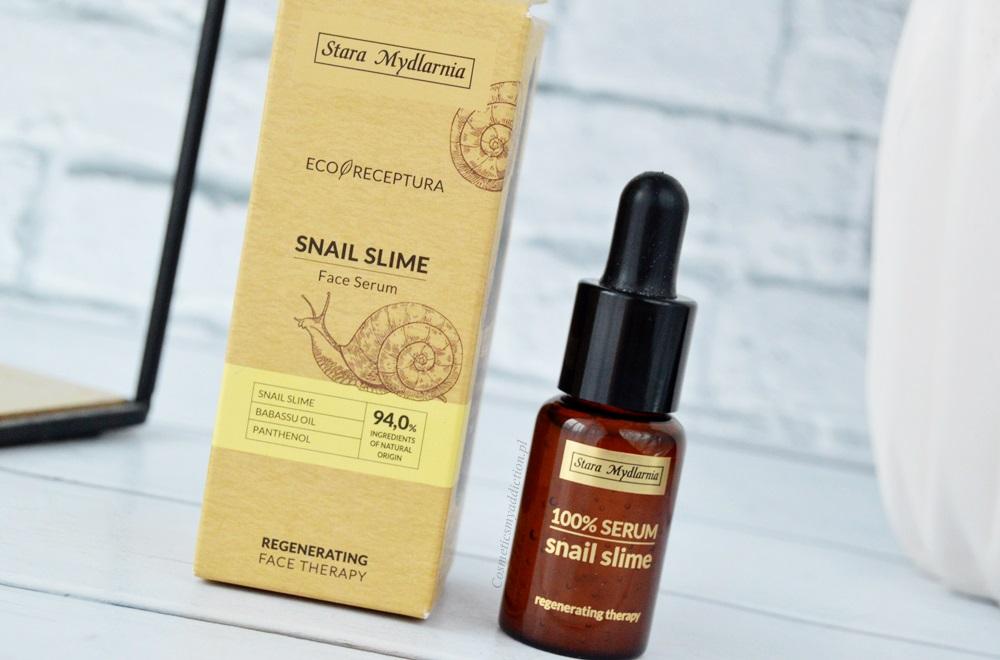 Snail Slime Face Serum, czyli serum do twarzy ze śluzem ślimaka - Stara Mydlarnia