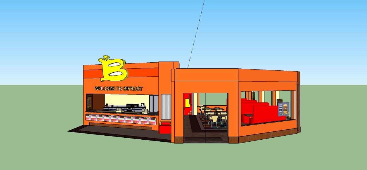 Simple Fast Food Restaurant