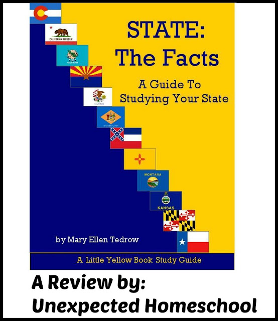 Review of State the Facts: A Guide to Studying Your State as a high school level option.