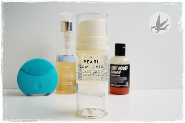 Recenzja żelu do mycia twarzy z perłami ahoya Skin79