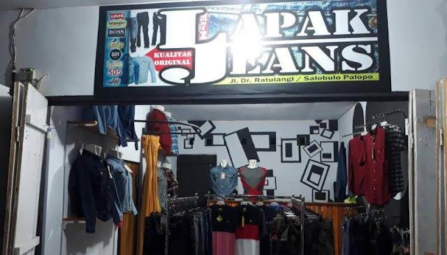 Pertama di Palopo, Ini Toko Khusus Merk Jeans