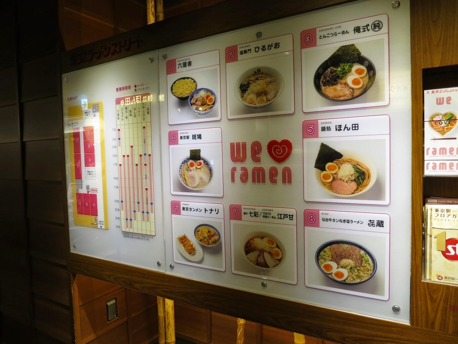 Tokyo Station Ramen Street; ikaruga; Tokyo Consult; TokyoConsult