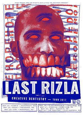 Last Rizla tour 2017 poster